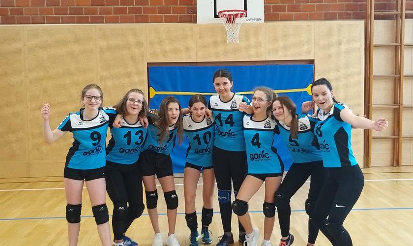 """""""Hausruck Volleys"""" U16 Mädels feiern 3:1 Sieg gegen Gallneukirchen!"""