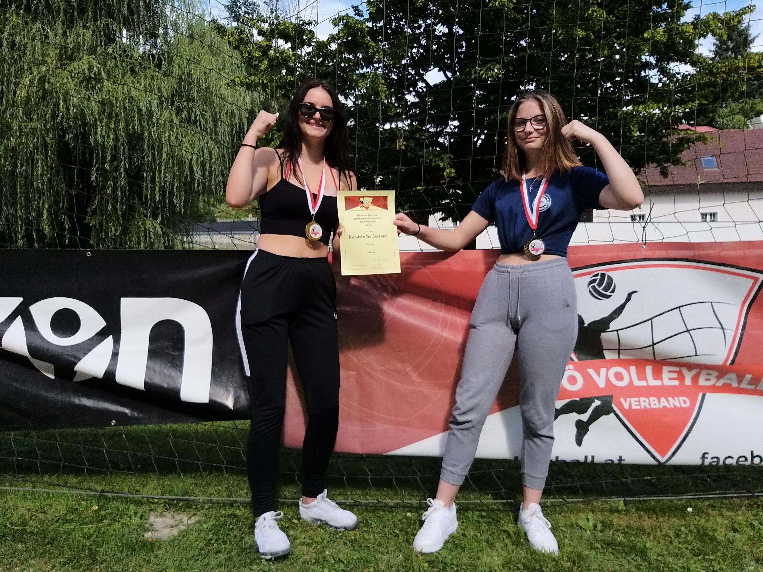 Kathi und Anna holen sich U15 Landesmeistertitel!
