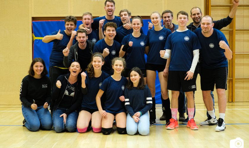 Volleyball Mixed-Team siegreich bei Heimrunde!