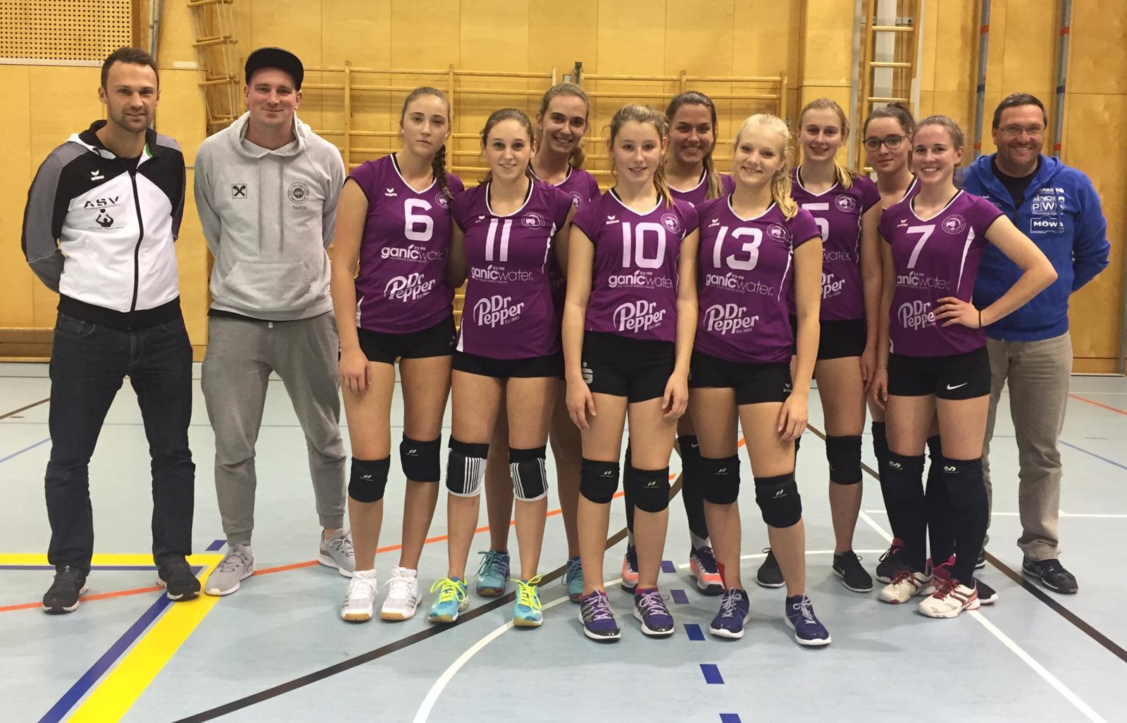 Erster Auftritt der U19 Mädls!