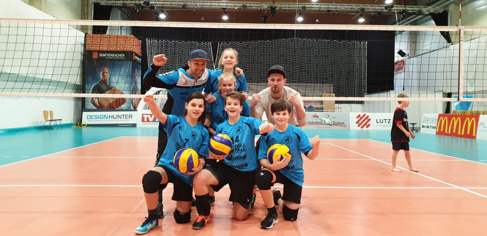 U13 Burschen/Mixed gewinnen beide Spiele!
